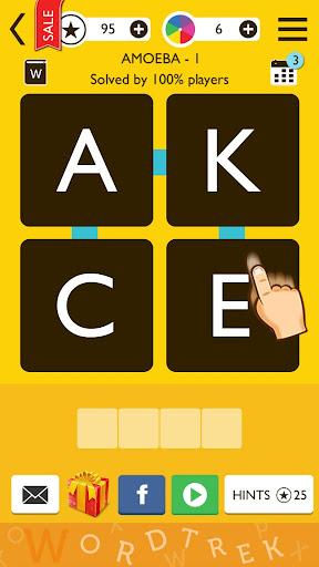 Word Trek - Word Brain streak - hand made puzzles 1.4.12 screenshots 1