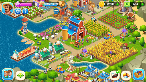 Farm City : Farming & City Building Apkfinish screenshots 18