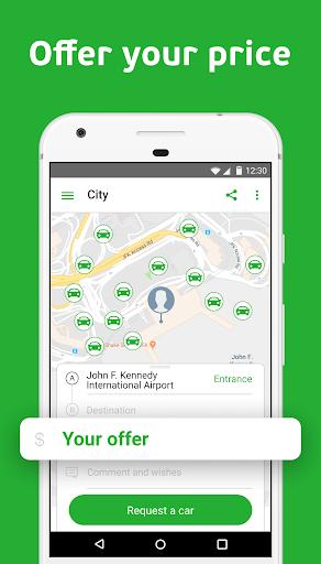 inDriver — Better than a taxi  screenshots 1