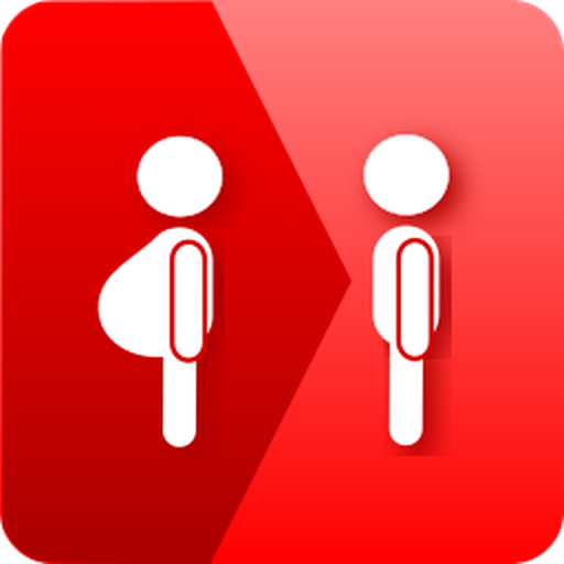 Weight loss tracker with pictures icon