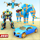 Elephant Robot Transform Jet Game - Androidアプリ