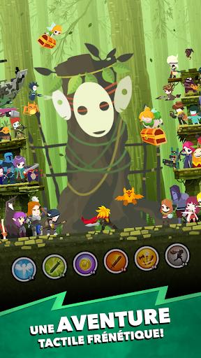 Télécharger Tap Titans 2 - Attaque de Monstre. Jeux d'aventure  APK MOD (Astuce) screenshots 1