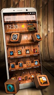 Wooden Touch Launcher For Pc – Free Download In Windows 7/8/10 & Mac 1
