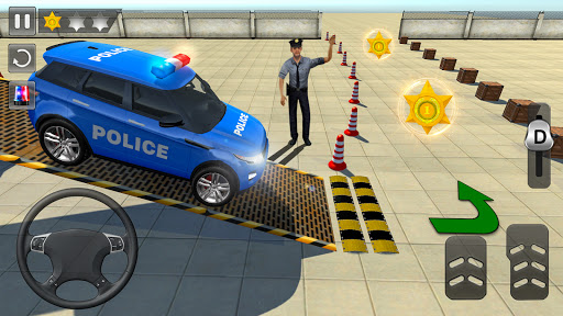 Advance Police Parking- New Games 2021 : Car games  screenshots 2
