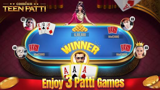 Teen Patti Comfun-Indian 3 Patti  Card Game Online 6.4.20210112 screenshots 3