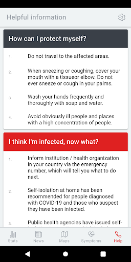 COVID-19! - The current spread of disease  Screenshots 6