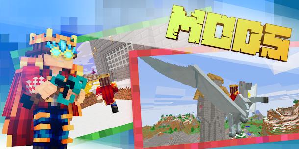 Download Minecraft MOD APK 1.16.210.60 (Unlocked Premium Skins) MOD 3