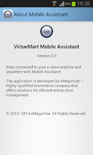 VirtueMart Mobile Assistant