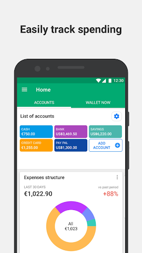 Wallet: Personal Finance, Budget & Expense Tracker screen 0
