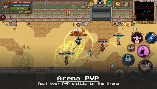 MMORPG Laurum Online – RPG – Pixel MMO – PVP 3