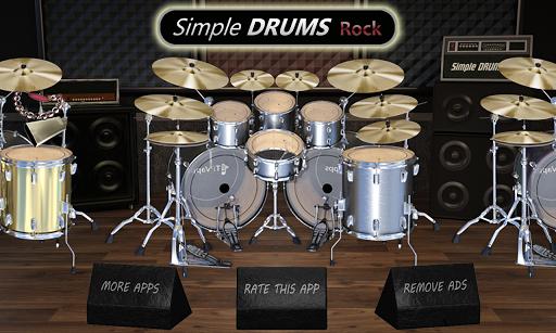 Simple Drums Rock - Realistic Drum Simulator 1.6.4 screenshots 1