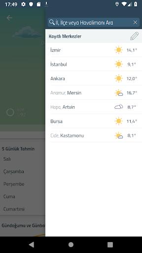 Meteoroloji Hava Durumu  Screenshots 4