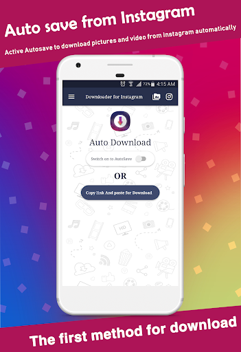 Video Downloader for Instagram - Save image&video android2mod screenshots 2