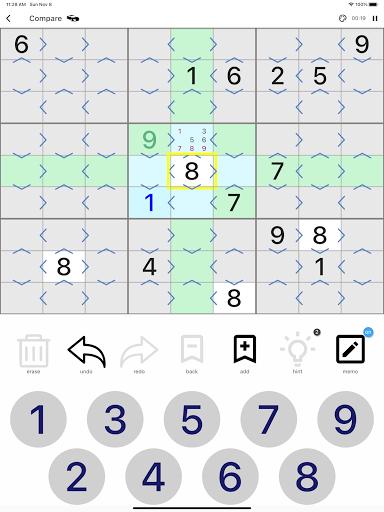 All Sudoku - 5 kinds of sudoku puzzle in one app screenshots 19