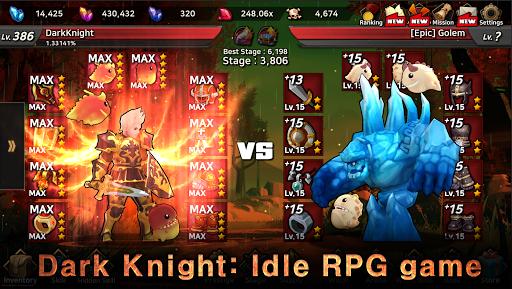 Dark Knight : Idle RPG game 0.1083 screenshots 1