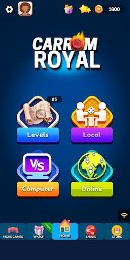 Carrom Royal - Multiplayer Carrom Board Pool Game  screenshots 14