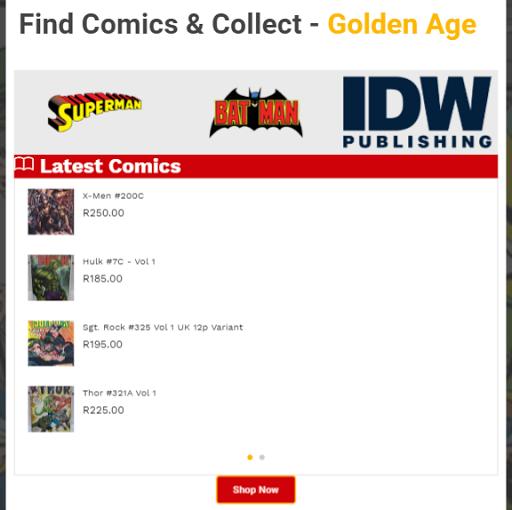 Collect Comics  screenshots 6