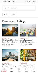 Yolo – BnB, Vacation Rental & Accommodation Screenshot