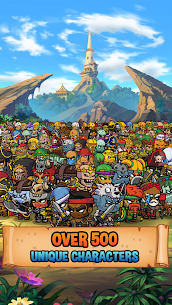 Five Heroes MOD APK: The King's War (Unlimited Money) 4