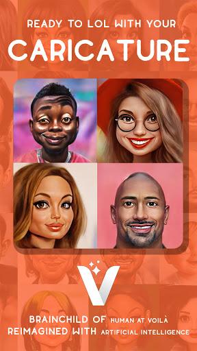 Voilà AI Artist - Photo to Cartoon Face Art Editor