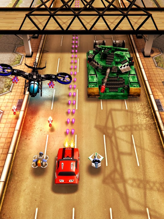 Chaos Road: Combat Racing poster 9