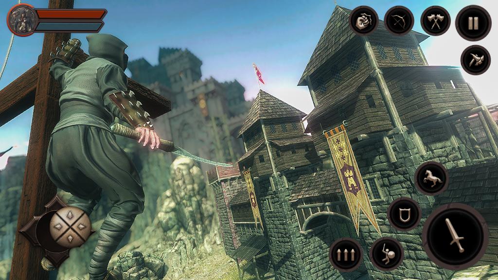 Ninja Samurai Assassin Hunter: Creed Hero fighter poster 1