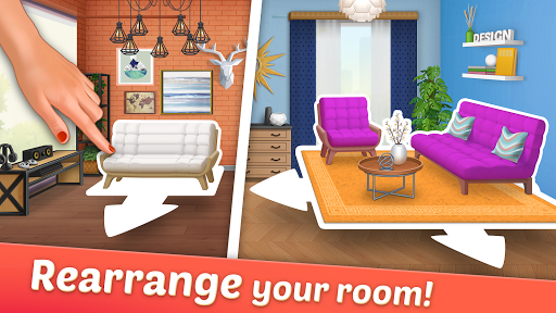DesignVille: Home Interior & Design Makeover Game v0.0.63 screenshots 23