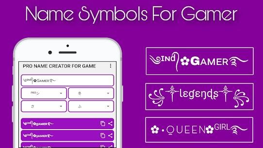 Symbol For Pro Gaming Name 1