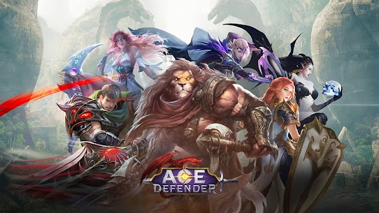 Ace Defender: War of Dragon Slayer MOD APK 1.8.7 (Multi DMG) 1
