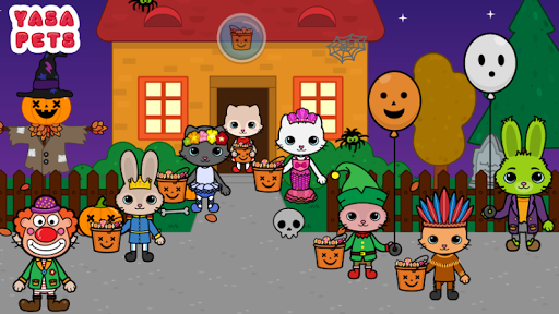 Yasa Pets Halloween 1.0 screenshots 1