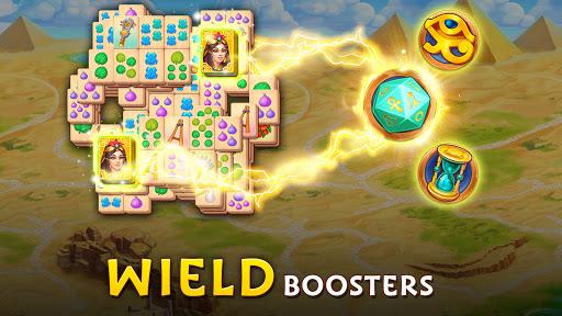 Pyramid of Mahjong: A tile matching city puzzle  screenshots 10
