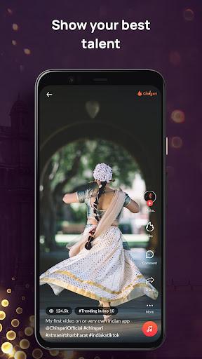 Chingari - Original Indian Short Video App  Screenshots 2