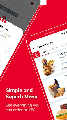 KFC Qatar - Order food online or takeaway from KFCのおすすめ画像3