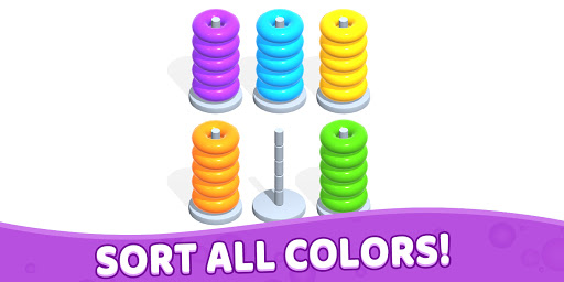 Color Hoop Stack - Sort Puzzle 1.0.3 screenshots 7