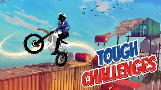 Police Bike Stunt Games : 3D Mega Ramp Stunts Game  screenshots 4