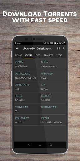 1DM: Privacy Browser, Video & Torrent Downloader  Screenshots 9