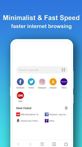 Pure Web Browser-Ad Blocker,Video Download,Private 1.8.9 Screenshots 2