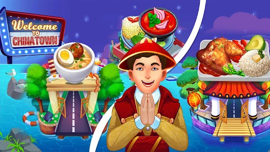 Cook n Travel: Cooking Games Craze Madness of Food 3