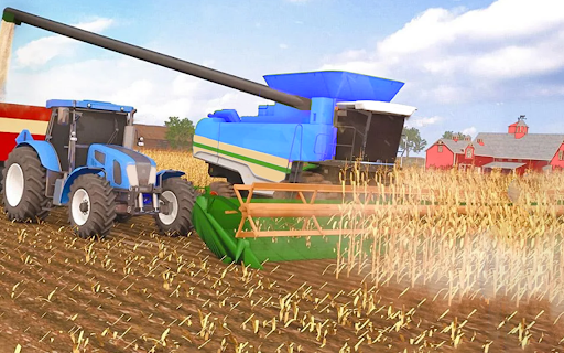 Real Farm Town Farming tractor Simulator Game 1.1.7 screenshots 15