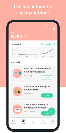 Goin - Save Invest Achieve modavailable screenshots 4