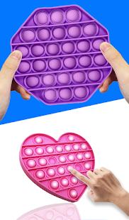 Fidget Cube Pop It 3D Anti stress satisfying Toys 1.1.0 Screenshots 3