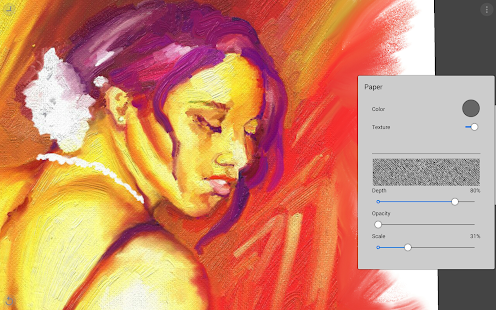 Painter Mobile Screenshot