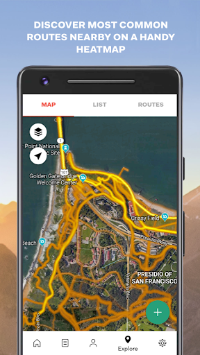 Sports Tracker Running Cycling apktram screenshots 5