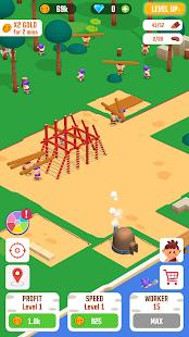 Idle Jungle: Survival Builder Tycoon  screenshots 1