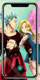 Deadly sins Anime Wallpaper 4K – Nanatsu no taizai 4