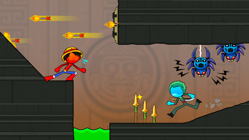 Fire and Water Stickman 2 : The Temple  screenshots 9