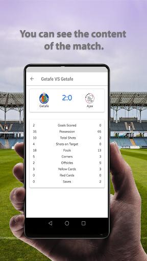 Live Football Scores 2020  screenshots 5
