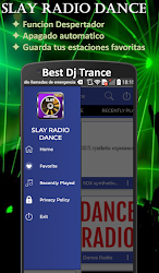 SLAY Radio Dance + Radio Trance House Drum & Bass .APK Preview 5