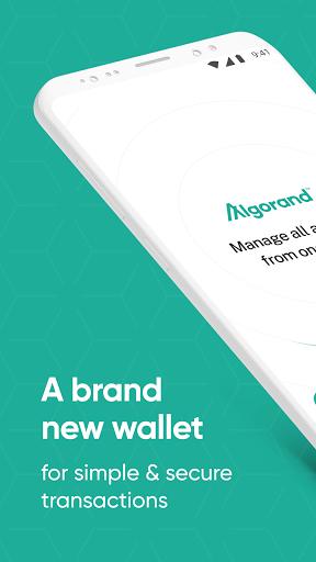 Algorand Wallet  screenshots 1