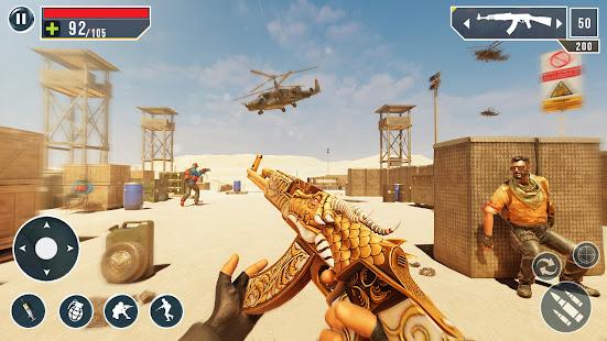 IGI Cover Fire Gun Strike: FPS Shooting Game screenshots 2